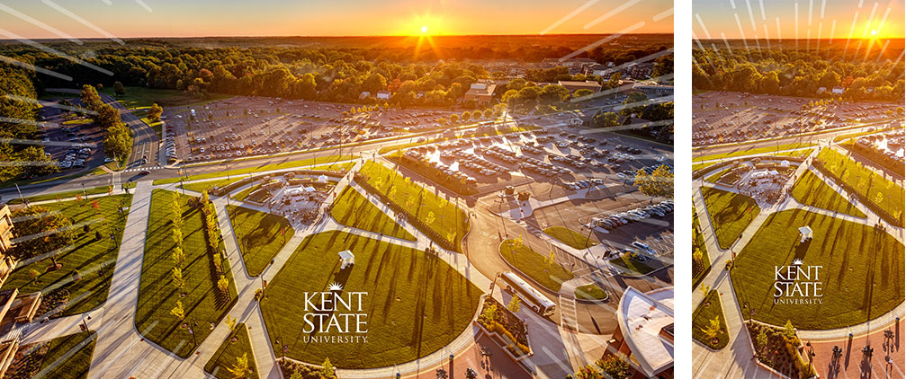 ksu campus aerial view